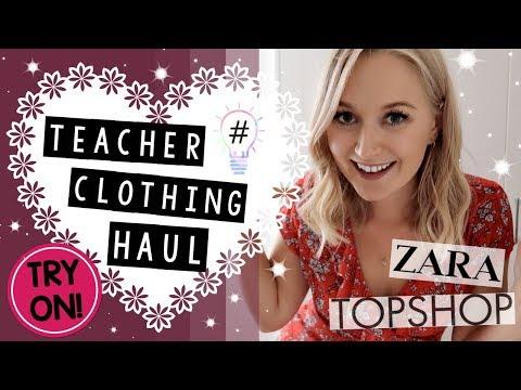 TEACHER Clothing Haul UK TRY ON Topshop, Ms  Selfridge, Zara & More