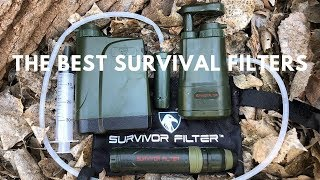 Portable Water Filters For Backpacking and Survival