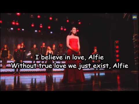 Glee - Alfie lyrics