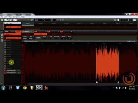 Tutorial: How to Truncate and Timestretch Samples in Maschine