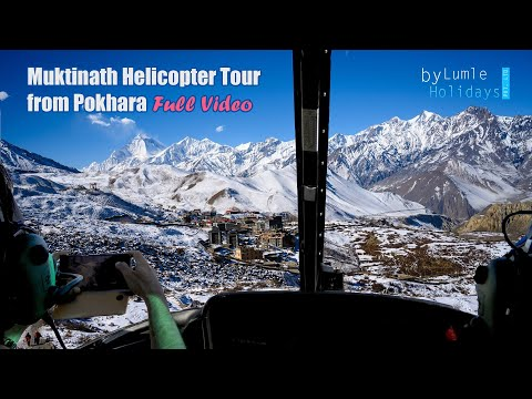 Muktinath Helicopter Tour from Pokhara