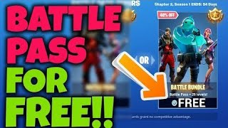 Gifting The Battlepass Come get Sum (Season 1 Chapter 2 )