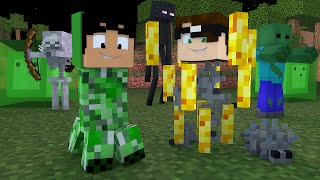 Minecraft: EVOLUÇÃO DOS MOBS! | Evolution Mini-Game