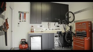 Manly Designs - Ultra Organized Garage and an Urban Inspired Beach Home