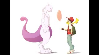 Let's Go Pikachu x MEWTWO
