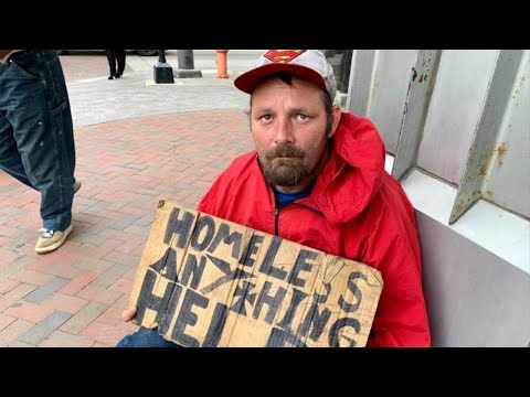 "Homeless Man Asks: ""If the Shelter Is Full, Why Don't They Build a New Shelter?"""