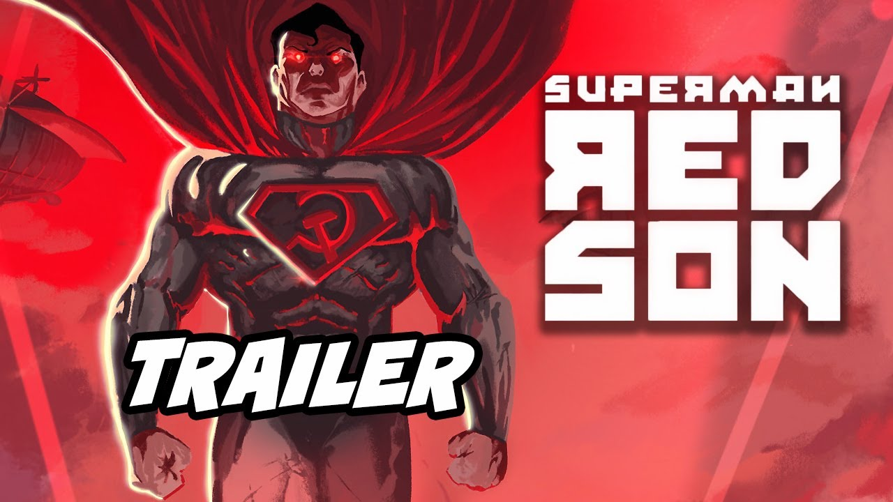 Superman Red Son Trailer Batman Superman Wonder Woman Breakdown Youtube