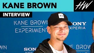Kane Brown Reveals How He Built His Truck & Shows Off His Tattoo Of His Wife Katelyn Jae | Hollywire