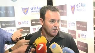 Rueda de prensa de José María Salmerón en previa Cádiz-UCAM (21-10-16)