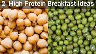 2 High Protein Breakfast Recipes | Healthy Breakfast ideas | Healthy Breakfast Recipes