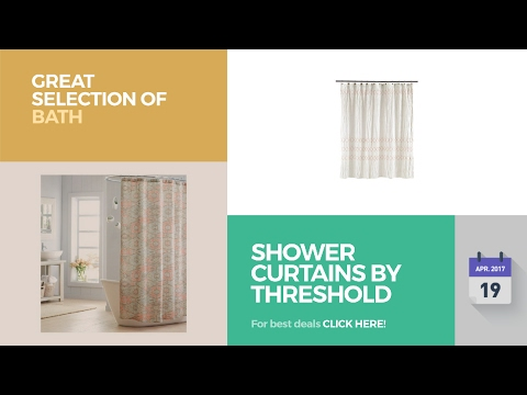 Shower Curtains By Threshold Great Selection Of Bath Products
