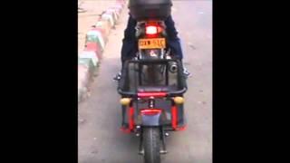 Cómo hacer un trailer monorueda para moto