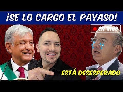"""Redes ponen en su lugar a Calderón porqué llamó a AMLO """"abusivo, deshonesto e inmoral""""."""