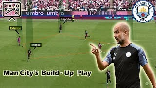 Pep Guardiola's Build-up Play
