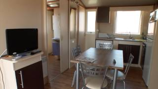 MOBILE-HOME GAMME LUXE CAMPING LES VIVIERS **** LEGE CAP FERRET ARCACHON GIRONDE FRANCE
