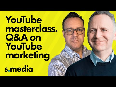 YouTube Marketing Tutorial and Help Masterclass – Q&A on YouTube marketing and YouTube SEO
