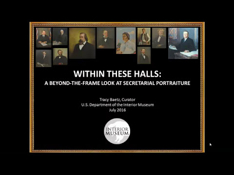 Within These Halls: A Beyond-the-Frame Look at Secretarial Portraiture