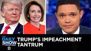 With multiple investigations hanging over him and talks of impeachment in the air, Trump allegedly storms out of an infrastructure meeting with Nancy Pelosi and ...