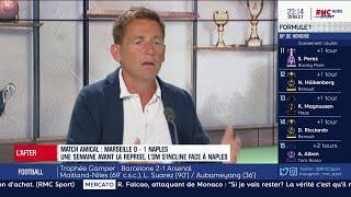 OM-Naples : Riolo pas convaincu par Marseille à une semaine de la reprise