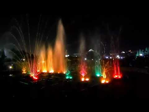 Water Dance with Music | Eco Park | Kolkata