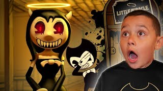IS ALICE ANGEL EVIL OR GOOD?! | Bendy and the Ink Machine CHAPTER 3 Gameplay Part 2