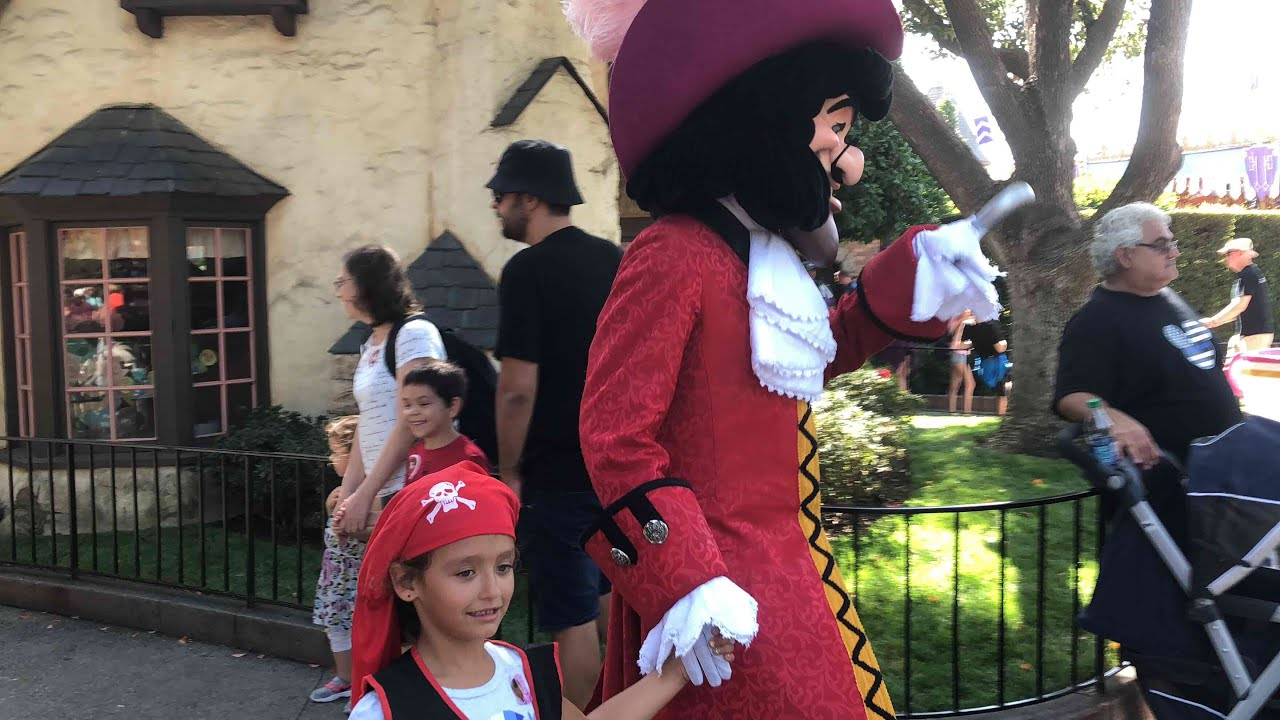 guided tour with captain hook  youtube