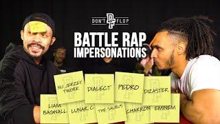 Battle Rap Impersonations | Episode 1 - Danny Jaqq Vs Impact | Don't Flop TV