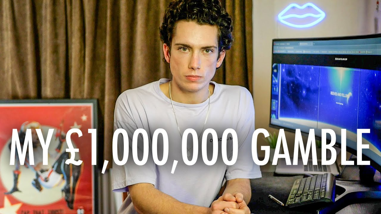 My Gamble to become a MILLIONAIRE In 10 Years Time... (Explained)