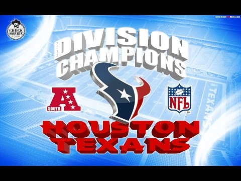 TEXANS CLINCH 2016 17 AFC SOUTH
