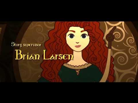 Brave. End Credits -  Valiente. Creditos Finales