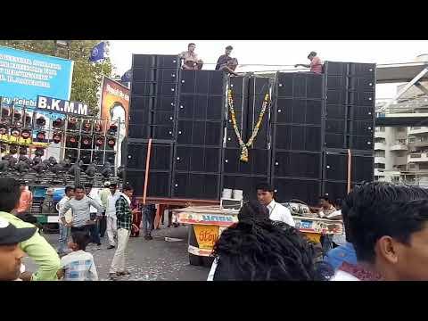 Pune bhim jayanti 2018 world best dj rich audio 16 base vishrantwadi bkmm boys