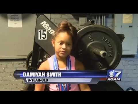 9 Year Old Powerlifter from Commerce, OK Heads to World Championships