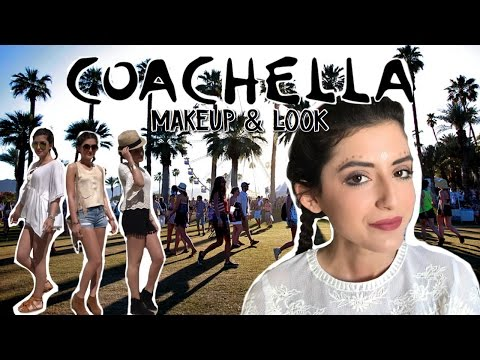 GET THE LOOK : COACHELLA⎢Makeup & Outfits