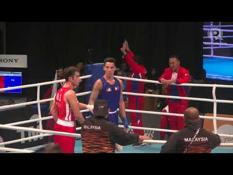 3eafa3abe SEA Games 2017: John Marvin destroys Malaysian foe to win gold - YouTube