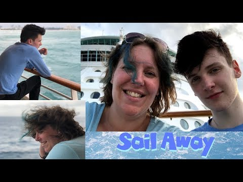 Boarding Day Muster, Sailaway & Dinner | Independence of the Seas Cruise Vlog [ep3]