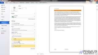 Microsoft Office Word Урок 8 Печать