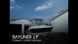 Used 2007 Bayliner 192 Discovery for sale in Conway, South Carolina