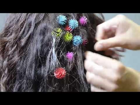 Как извлеч из волос конструктор-липучку Bunchems (Банчемс)