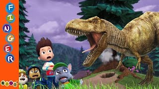 Paw Patrol Fear With Dinosaurs T Rex#Din...