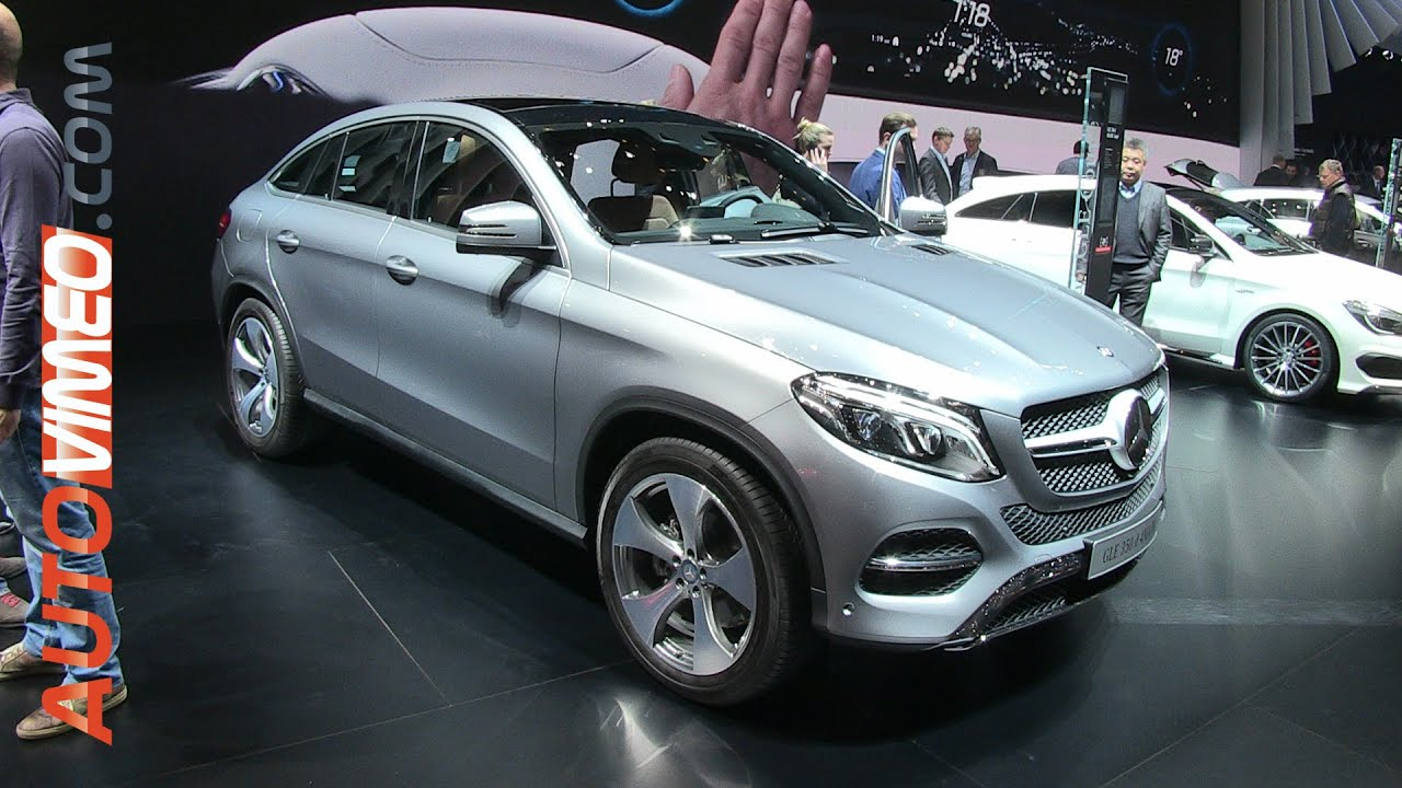 mercedes benz gle 350d 4matic coup 2015 youtube. Black Bedroom Furniture Sets. Home Design Ideas