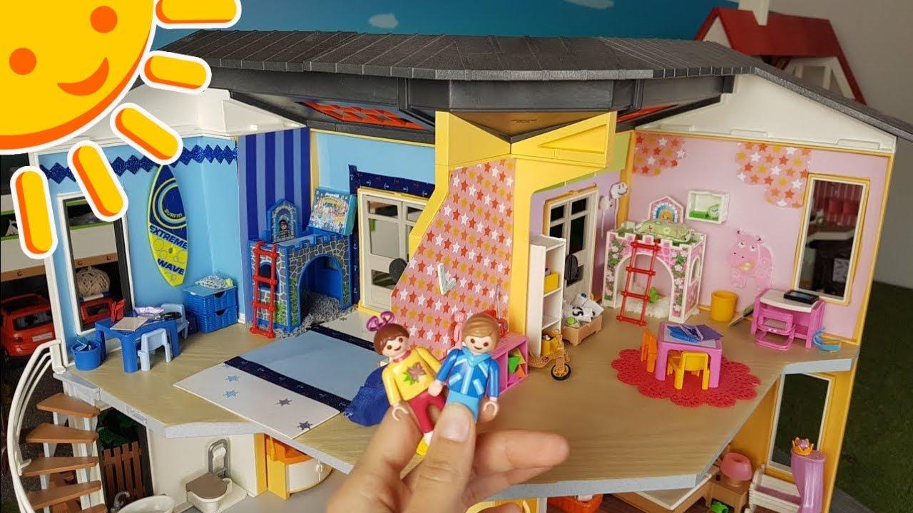 Playmobil Kinderzimmer   Die Playmobil Kinderzimmer Weihnachtlich Dekoriert