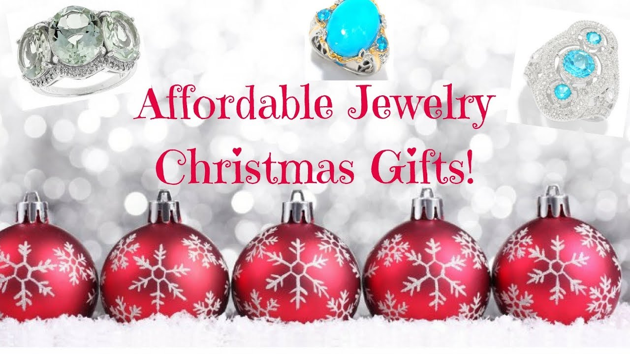 Affordable Jewelry Christmas Gifts For All Budgets!! - YouTube