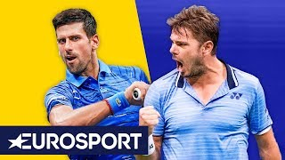 Novak Djokovic vs Stan Wawrinka Highlights | US Open 2019 | Eurosport
