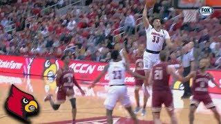Louisville's Jordan Nwora Takes Off Against Boston College