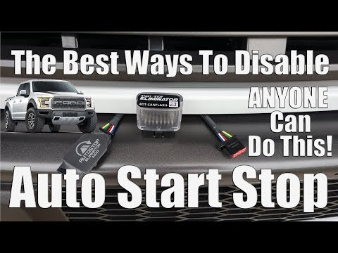 """The Best Way To """"Default Off"""" The Auto Start Stop on Ford F150 Trucks Without Eliminating Functions"""