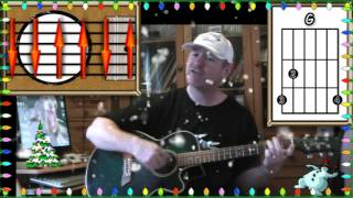 Frosty The Snowman - Acoustic Guitar Lesson