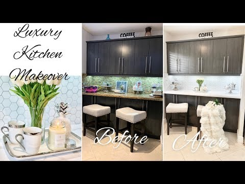 LUXURY DIY KITCHEN MAKEOVER IDEAS ON A BUDGET
