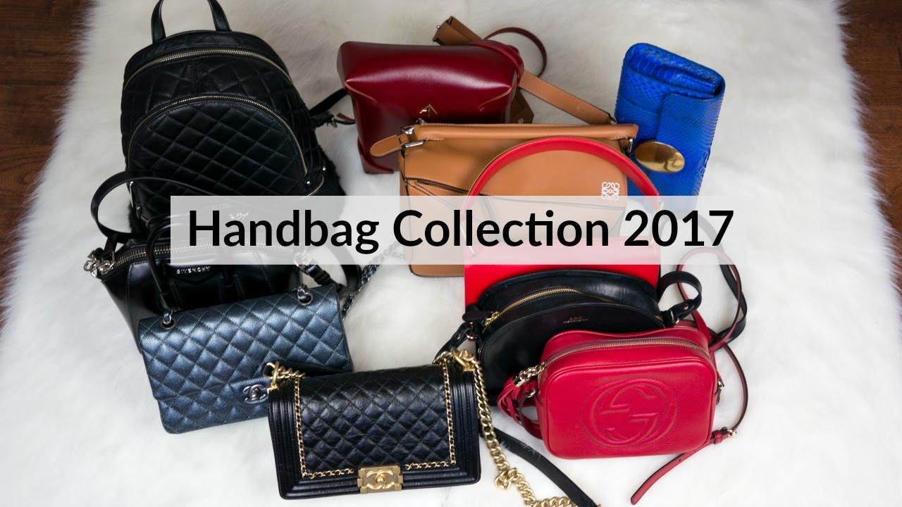 Designer Handbag Collection 2017 Ft Chanel Gucci English Subs 包包合集