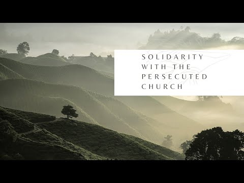 Solidarity With The Persecuted With Gia Chacon