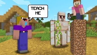 Teaching A Noob How To SpeedRun Minecraft!